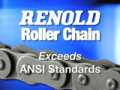 Renold roller chain